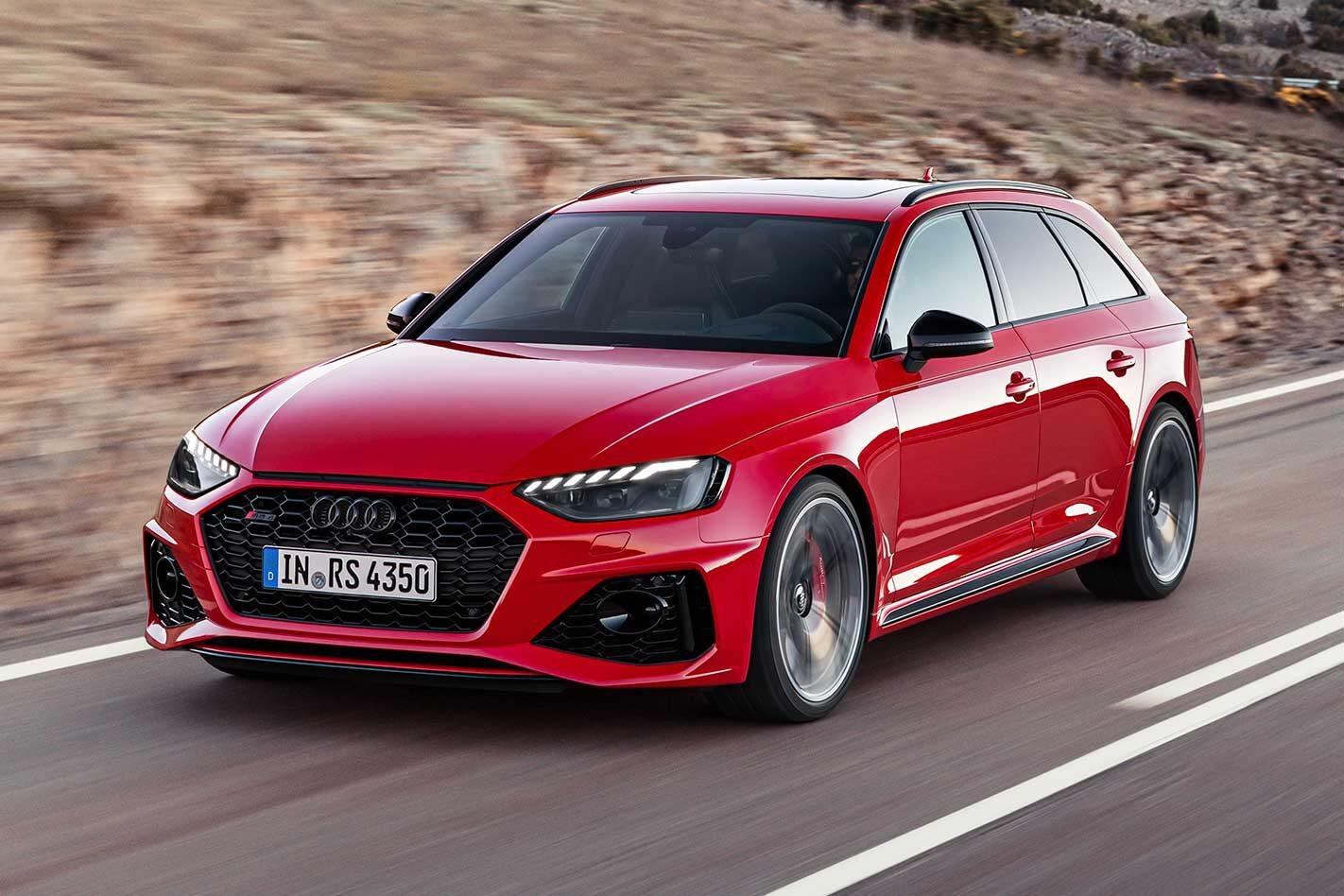 2020 Audi RS4 Avant revealed