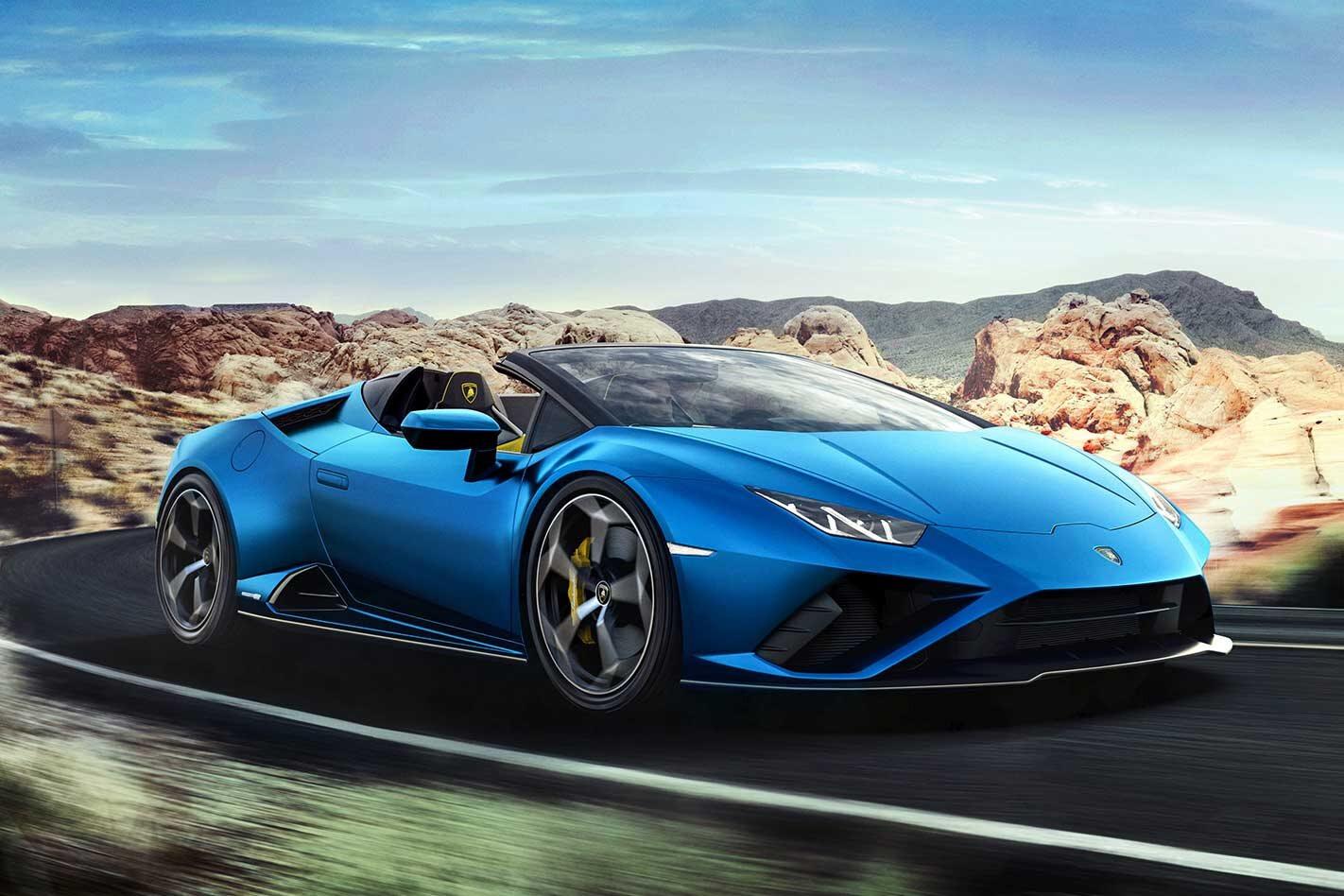 Lamborghini Huracan Evo RWD Spyder specs pricing