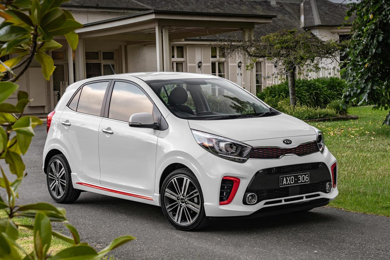 2019 Kia Picanto GT Front Side Static Jpg