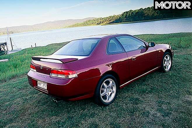 2001 Honda Prelude V Ti R ATTS Rear Jpg
