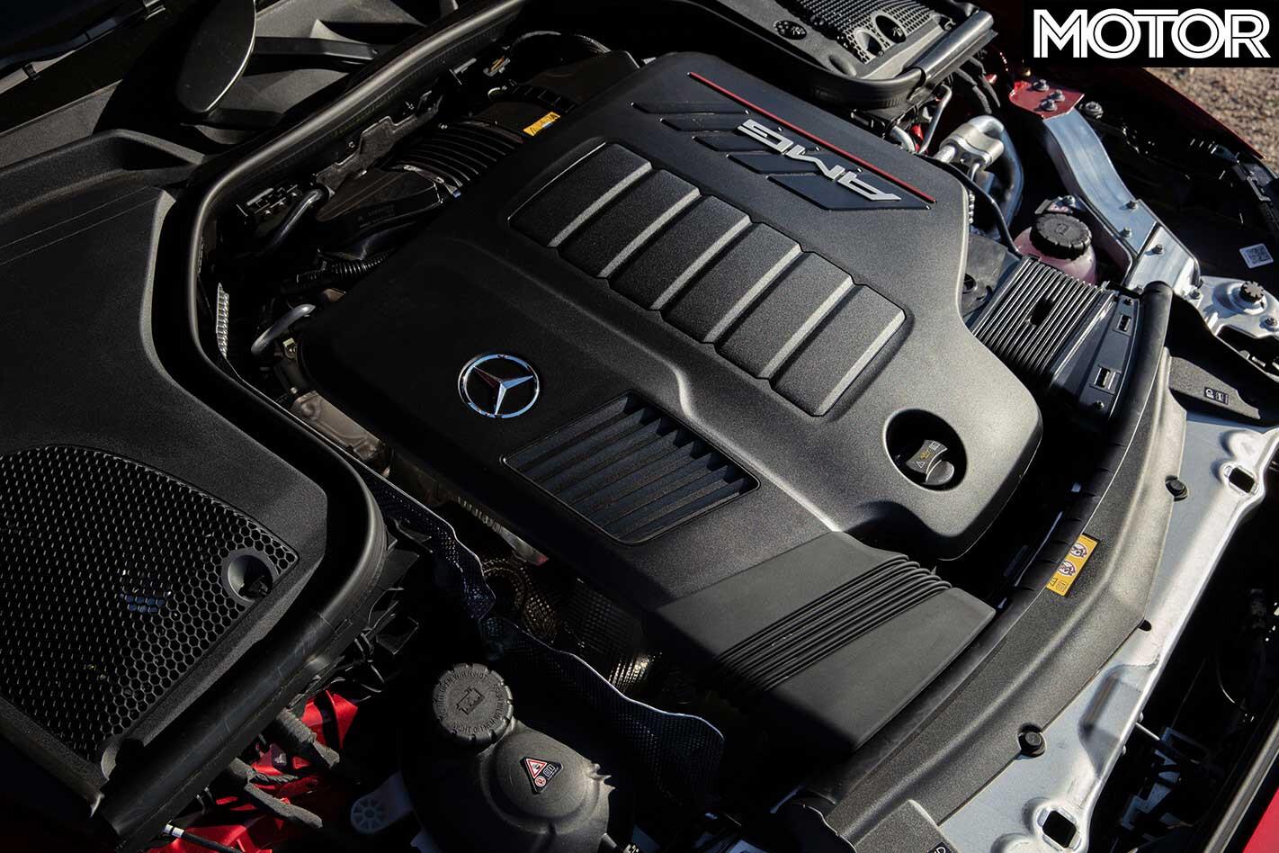 2019 Mercedes AMG E 53 Coupe Engine Jpg