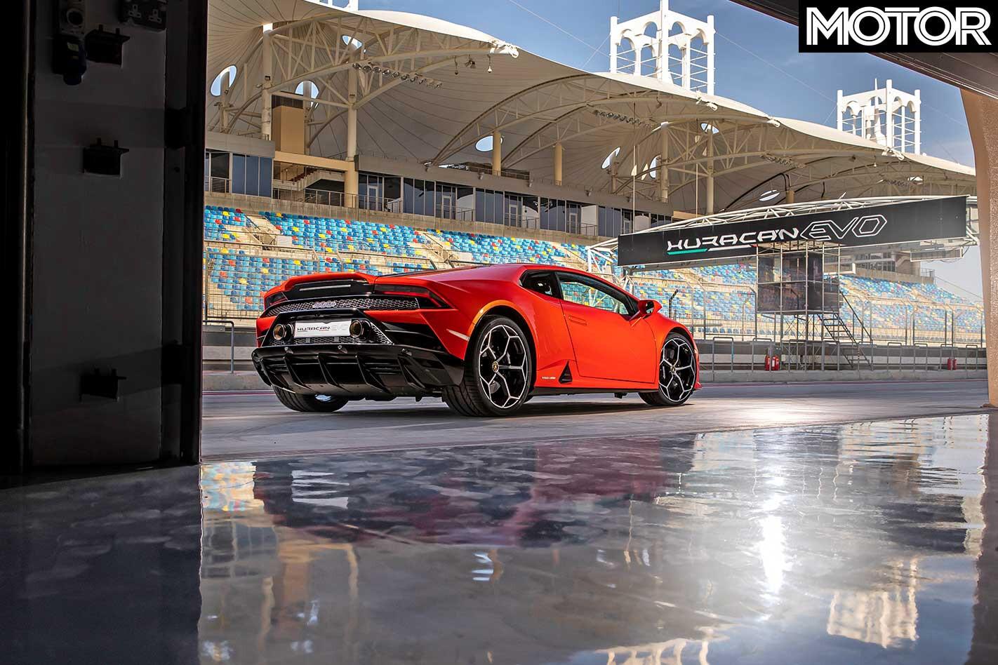 2019 Lamborghini Huracan Evo Rear Static Jpg