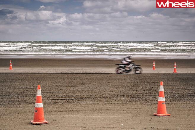 Motorbike -rider -dirt