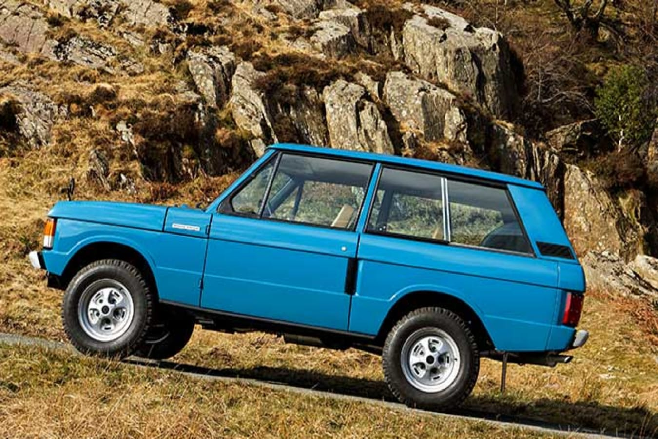 Range Rover Classic off-road
