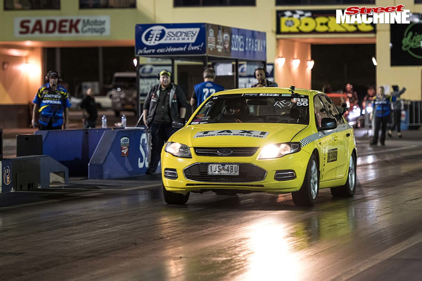 carnage turbo taxi dragstrip