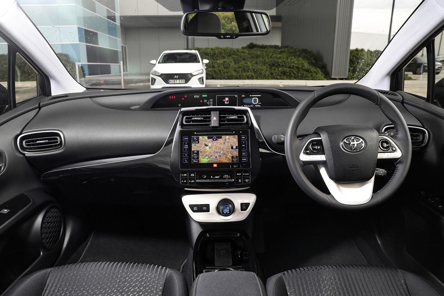 Hyundai Toyota Hybrid Toyota Interior Jpg