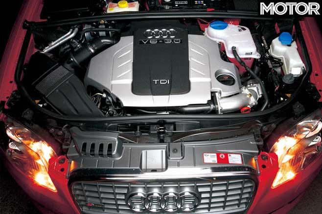 2006 Audi A 4 TDI Quattro Engine Jpg