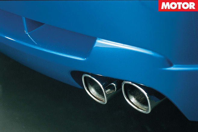 Ford TS50 exhaust