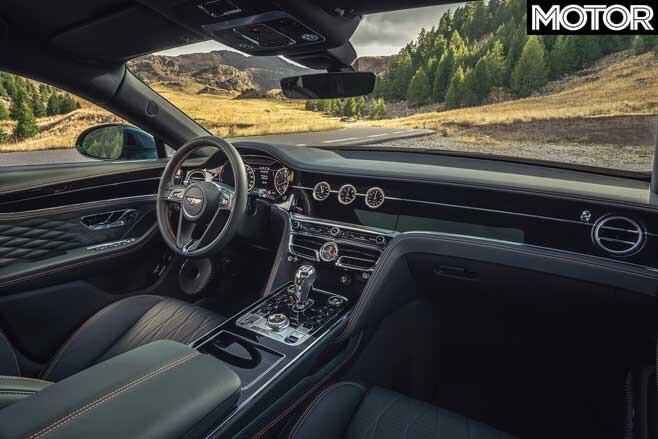 Bentley Flying Spur Interior Jpg