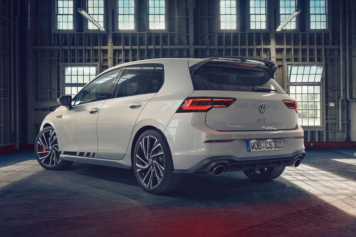 2020 VW Golf GTI Clubsport rear