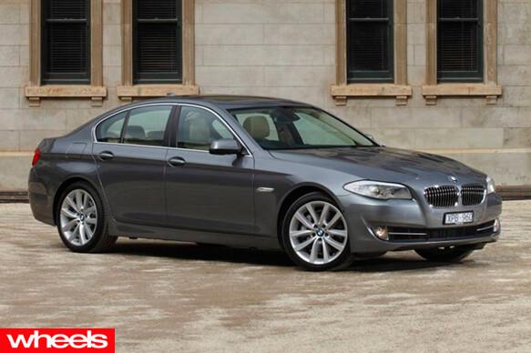 Wheels Magazine BMW 528i