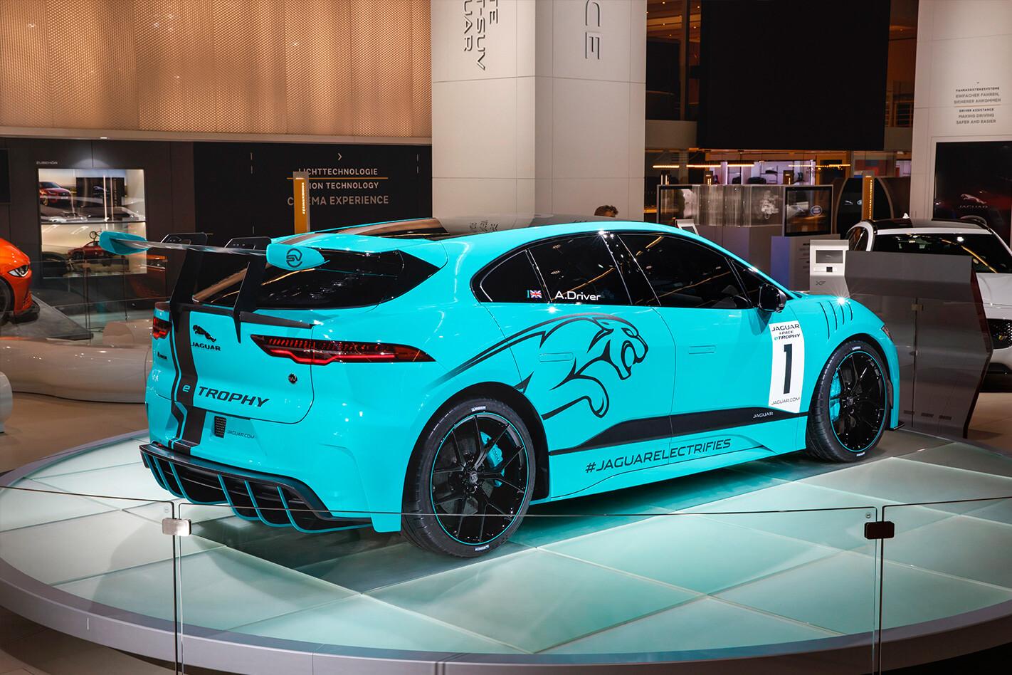 Jaguar I Pace One Make Racing Rear Quarter Jpg