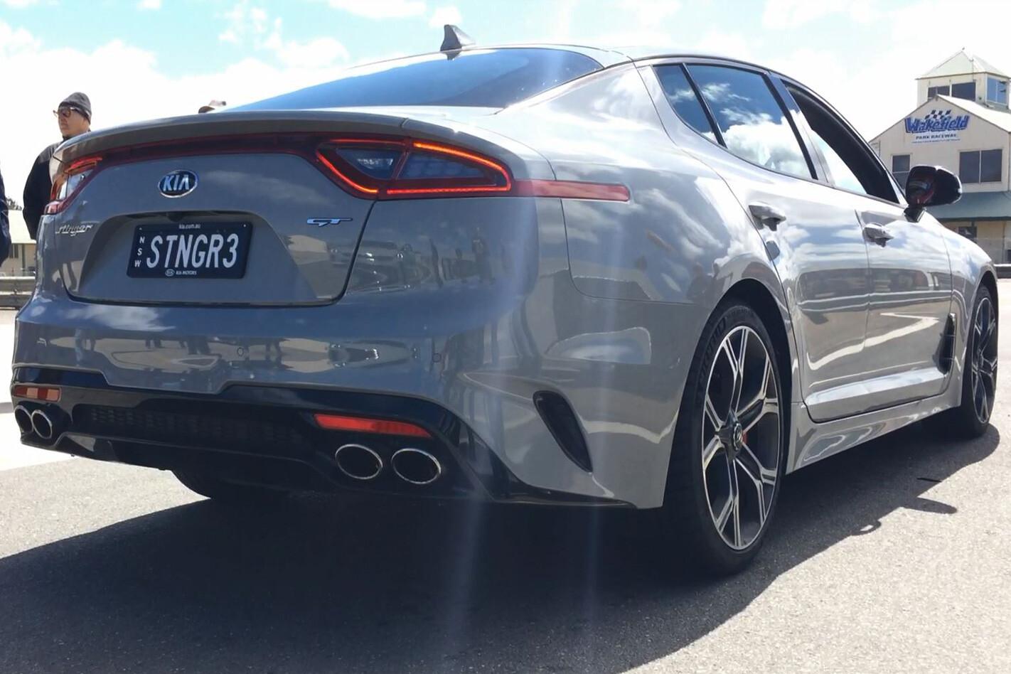2018 Kia Stinger GT rear