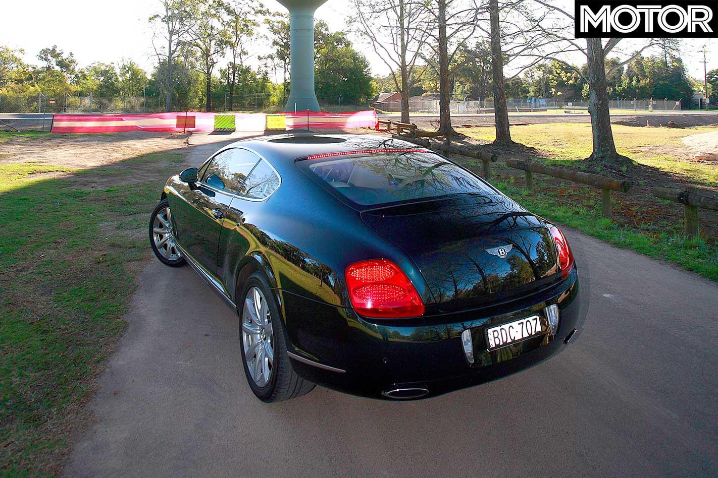 2008 Bentley Continental GT Rear Jpg