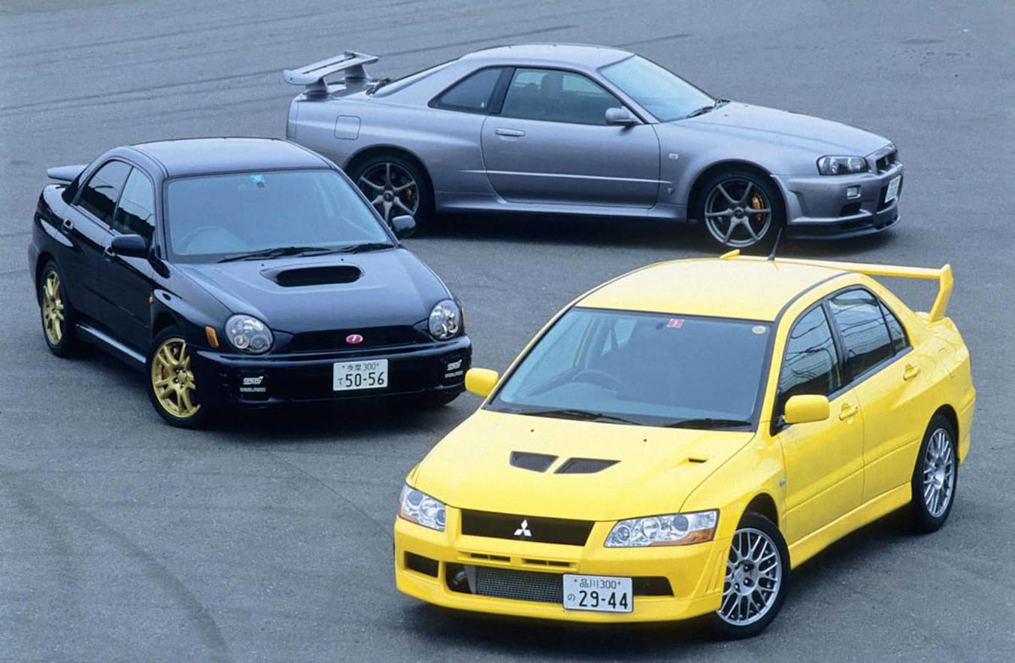 Mitsubishi Lancer Evolution Vii Nissan Skyline Subaru Impreza Wrx Web Jpg
