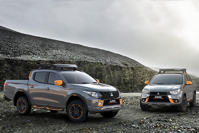 Mitsubishi ASX and Triton Geoseek