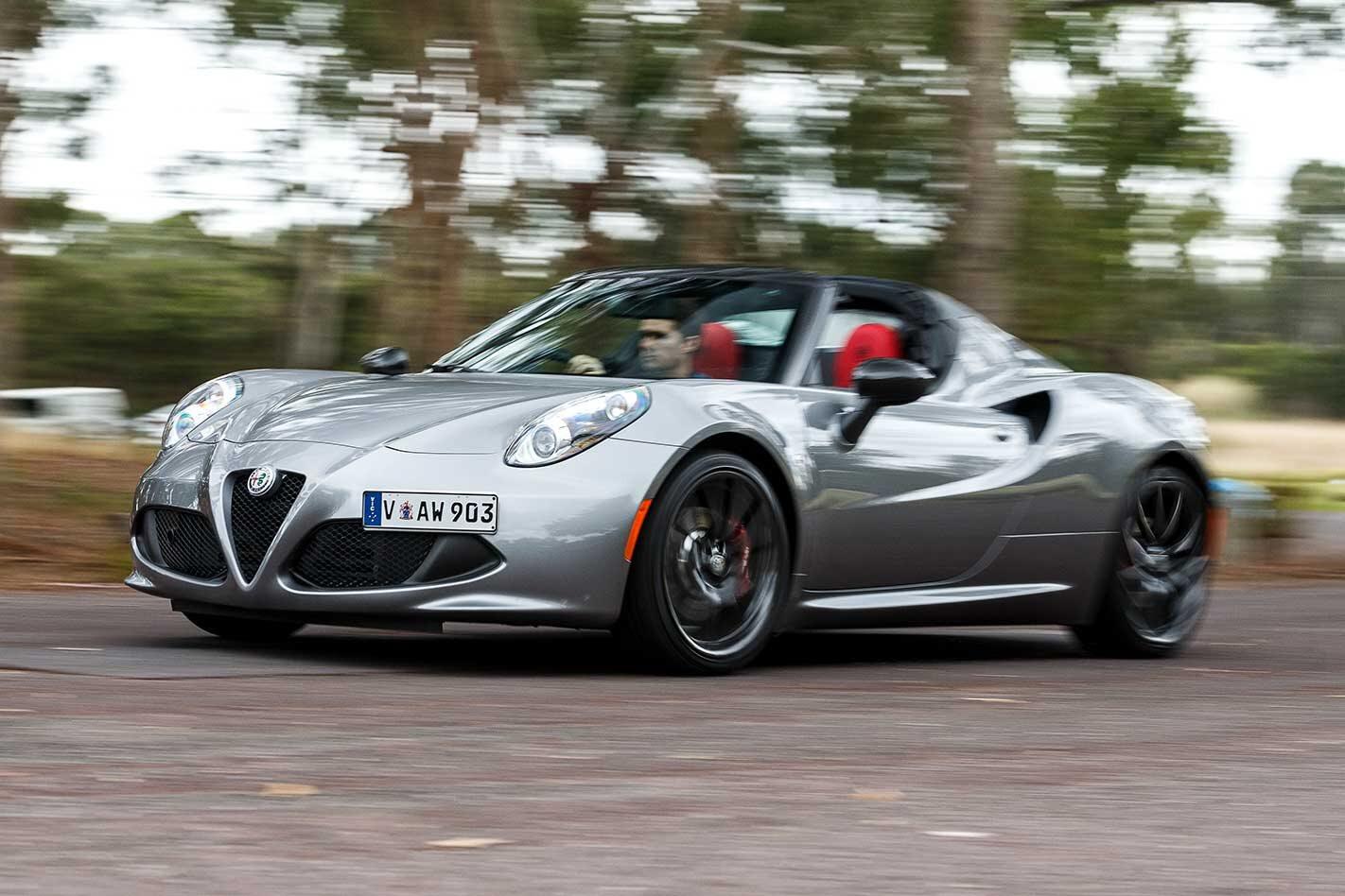2019 Alfa Romeo 4C Spider performance review