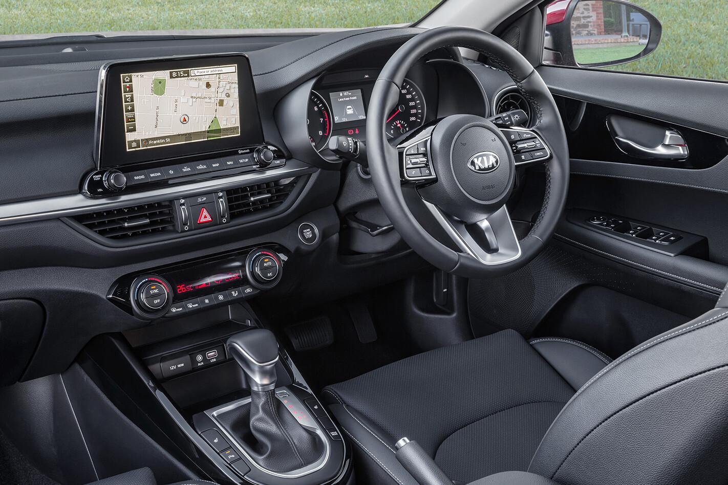 Kia Cerato Sport Plus Interior Jpg