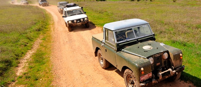 Land Rover Road-Trip