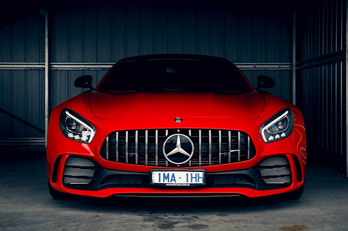 Mercedes-AMG GT Black Series new engine