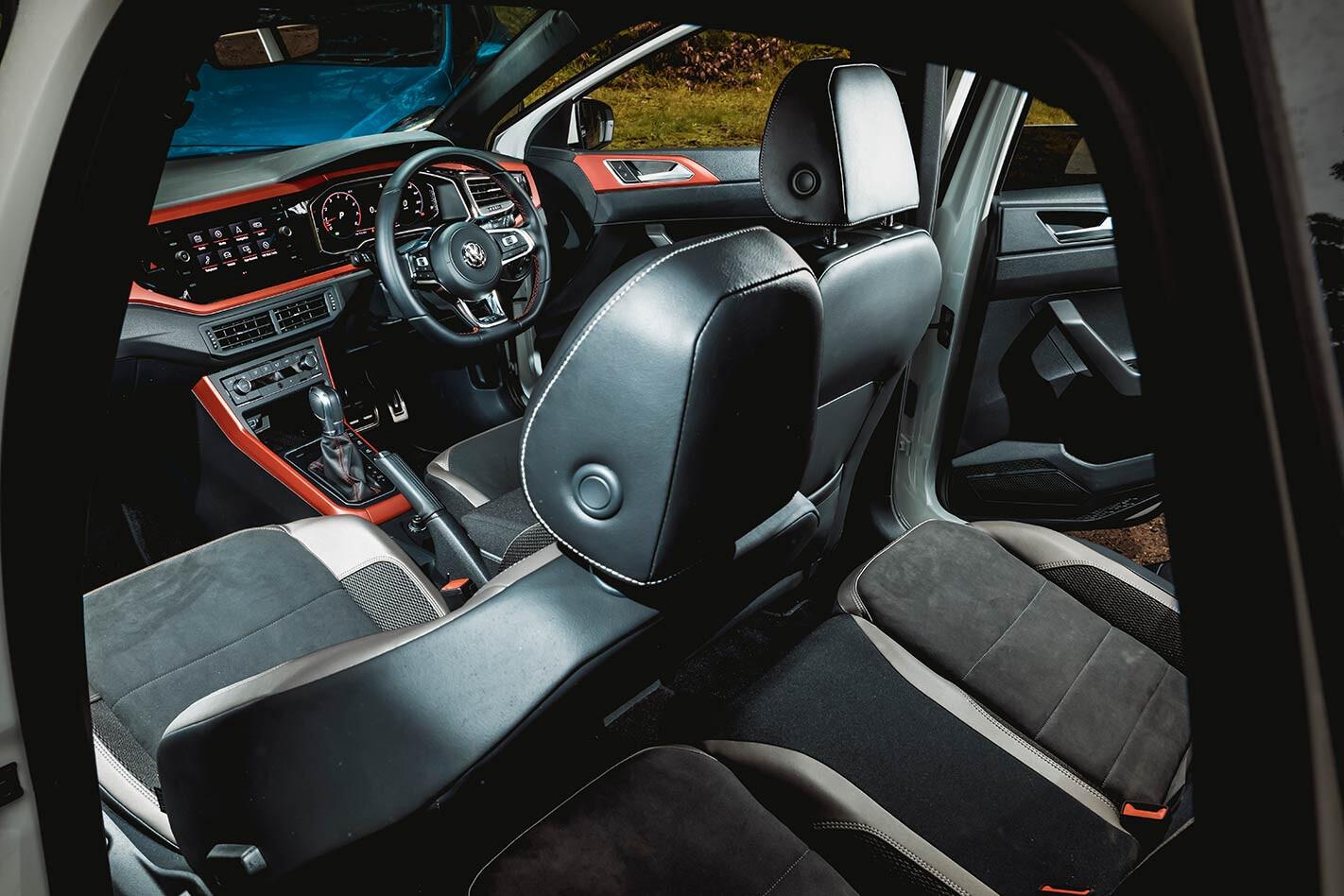 VW Polo GTI interior