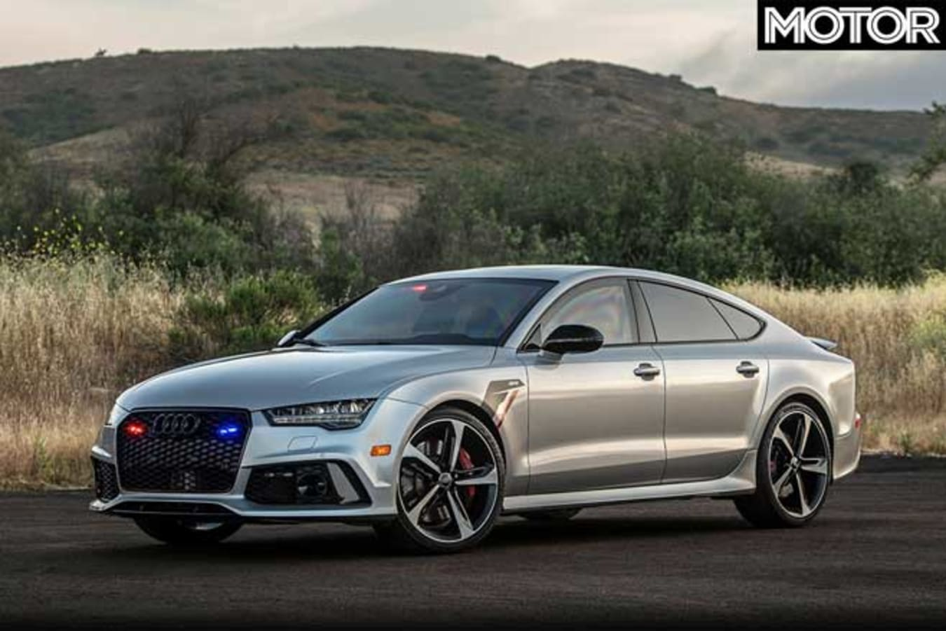 AddArmor APR armoured Audi RS7 front