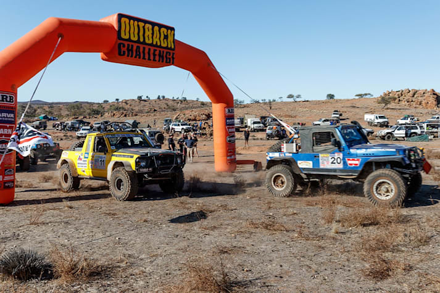 2017 Outback Challenge start line