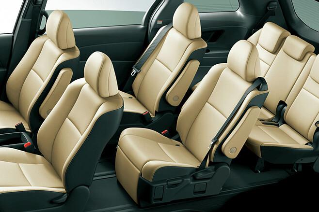Toyota Tarago seven seats