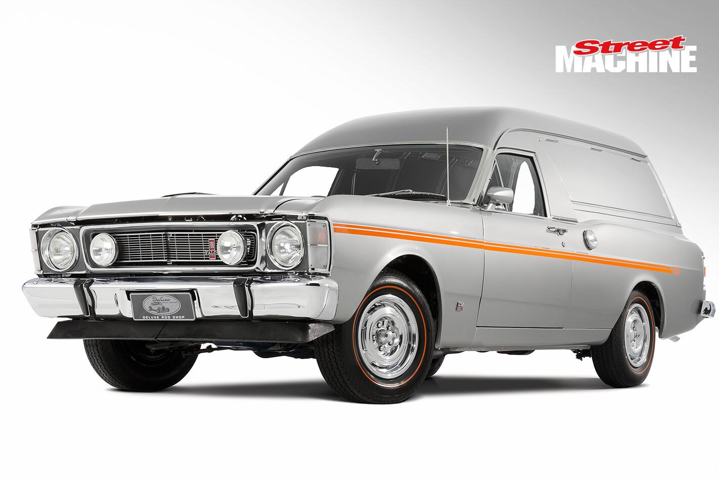 Ford XW GS Panel Van