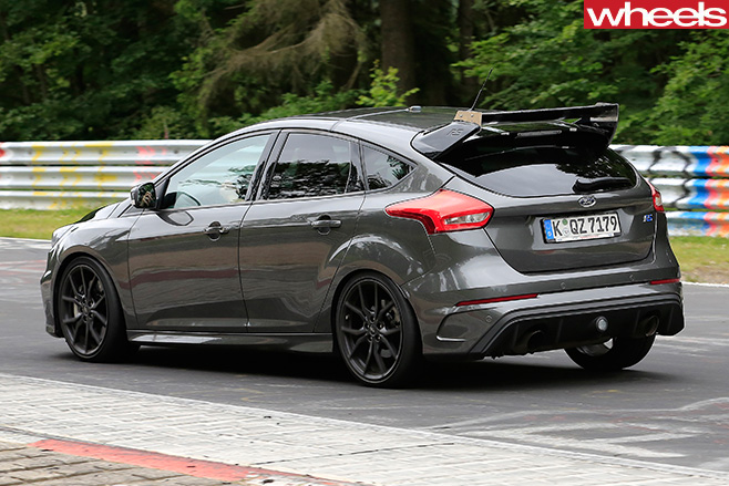 Ford -Focus -RS500-rear -side