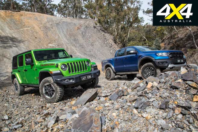 Ford Ranger Raptor Vs Jeep Wrangler Rubicon Comparison Specifications Jpg