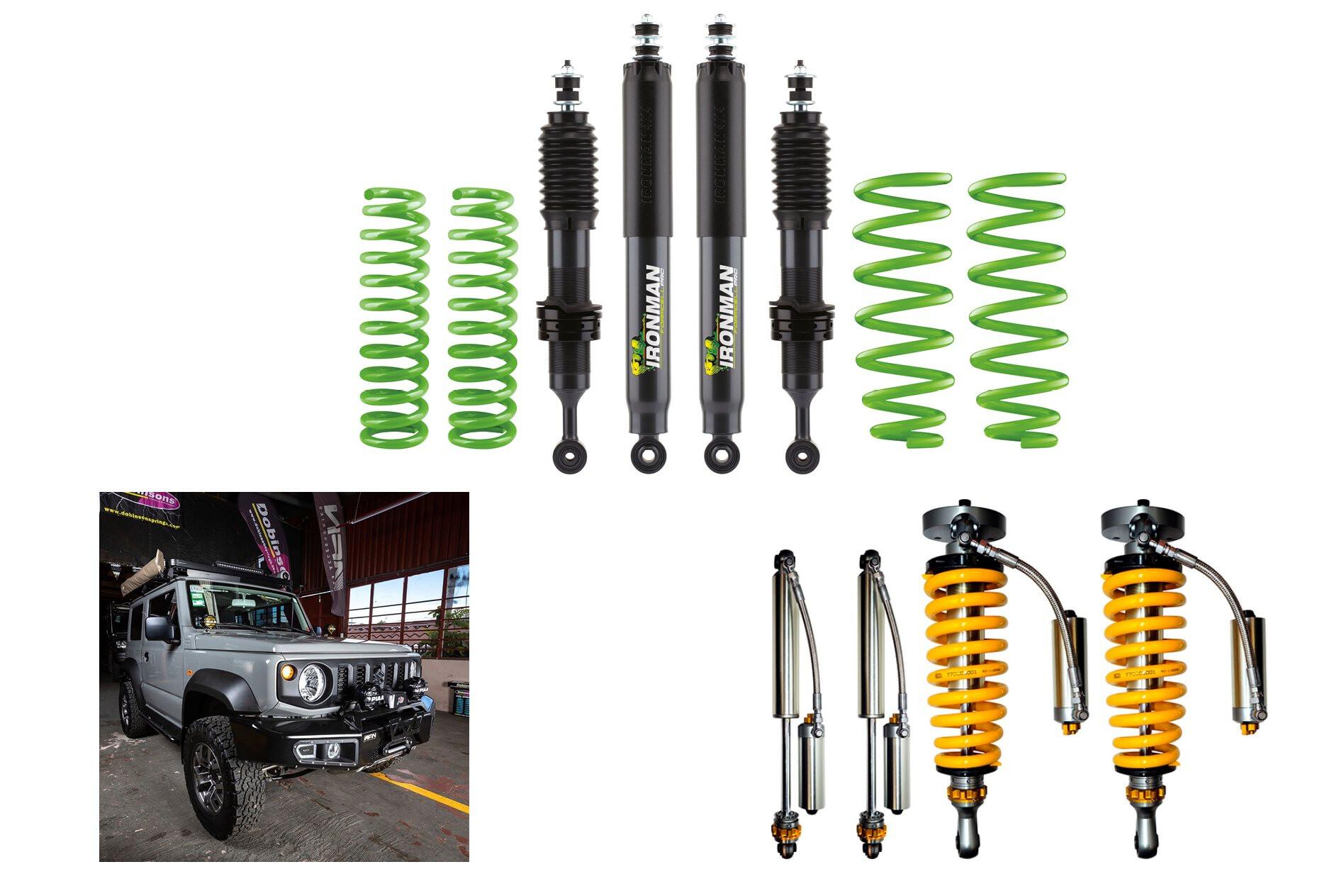 AFN bullbar, Ironman GVM upgrade and TJM suspension