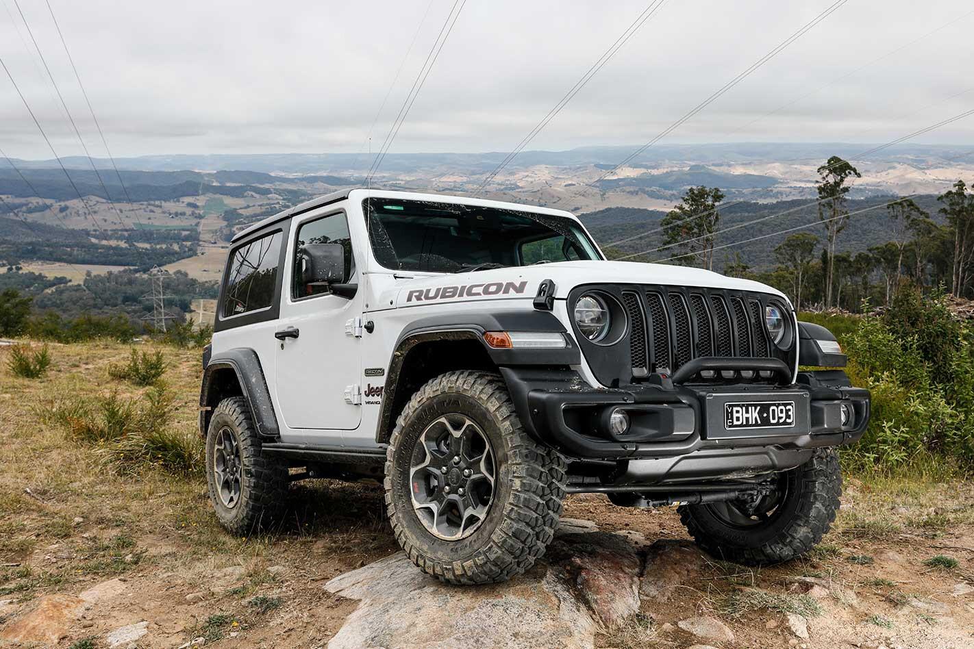 Jeep JL Wrangler Rubicon Recon SWB