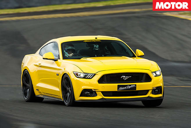 Hennessey Streetfighter Ford Mustang front