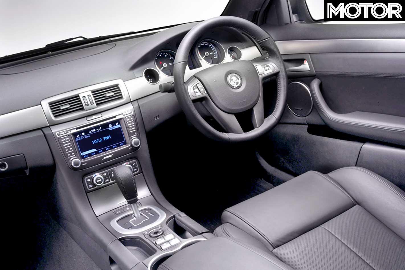 2006 Holden WM Caprice Interior Jpg