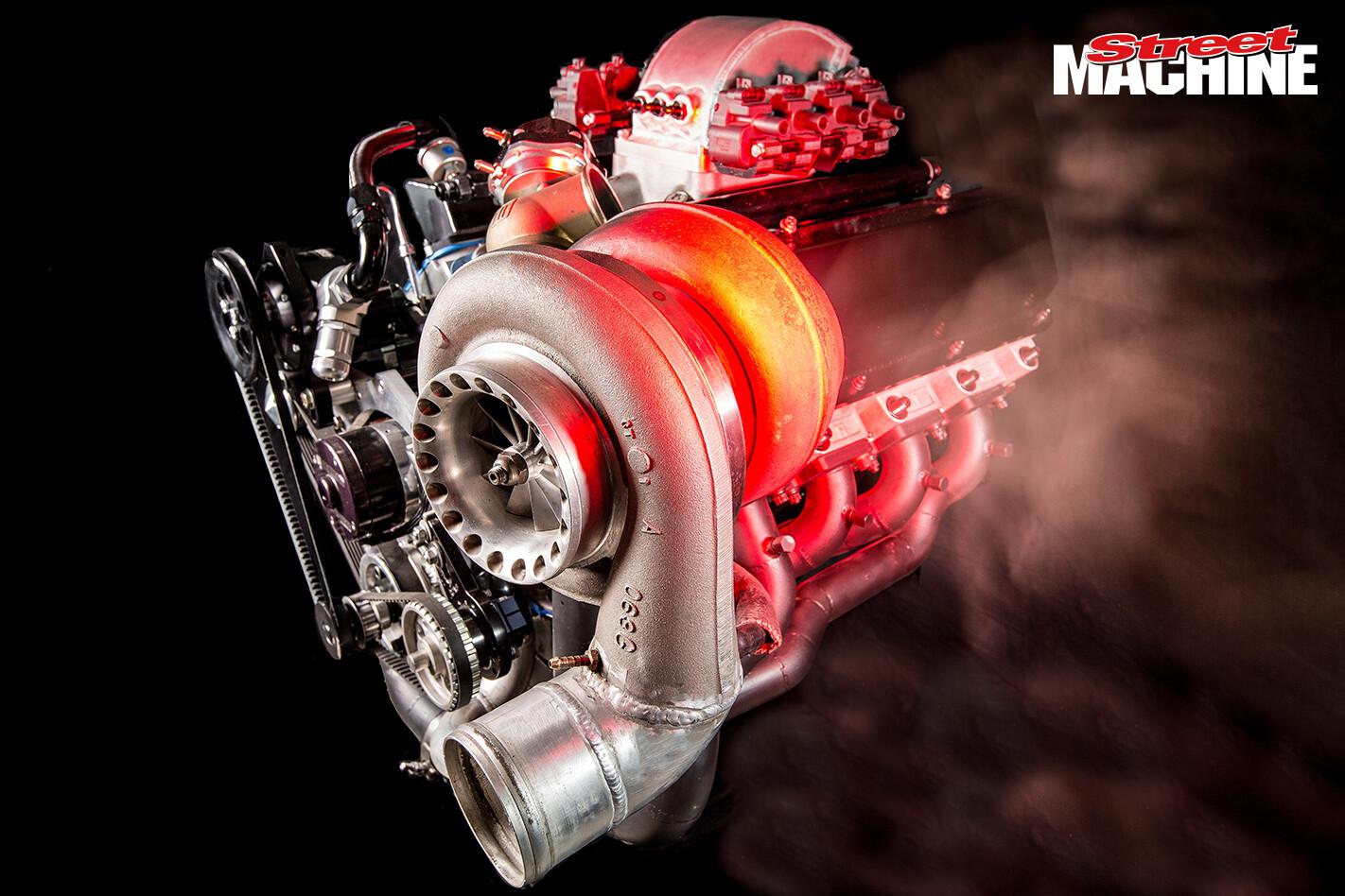 Turbo Small Block Ford Engine 2 Jpg