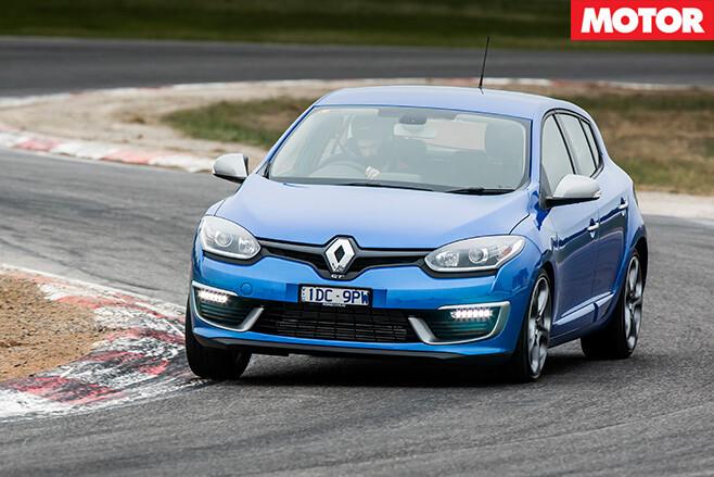 Renault megane gt turn