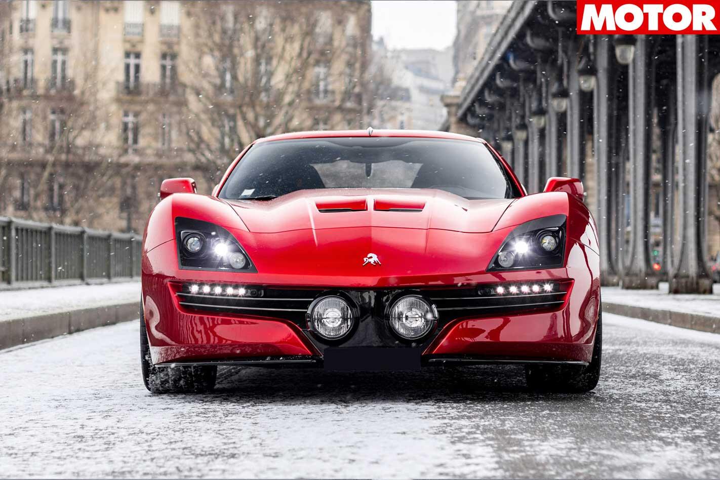 Equus Throwback Corvette Front Jpg
