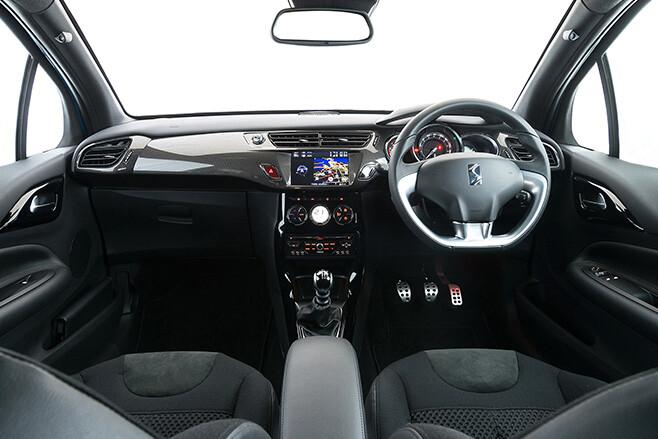 Citroen DS3 Interior Dashboard Seats