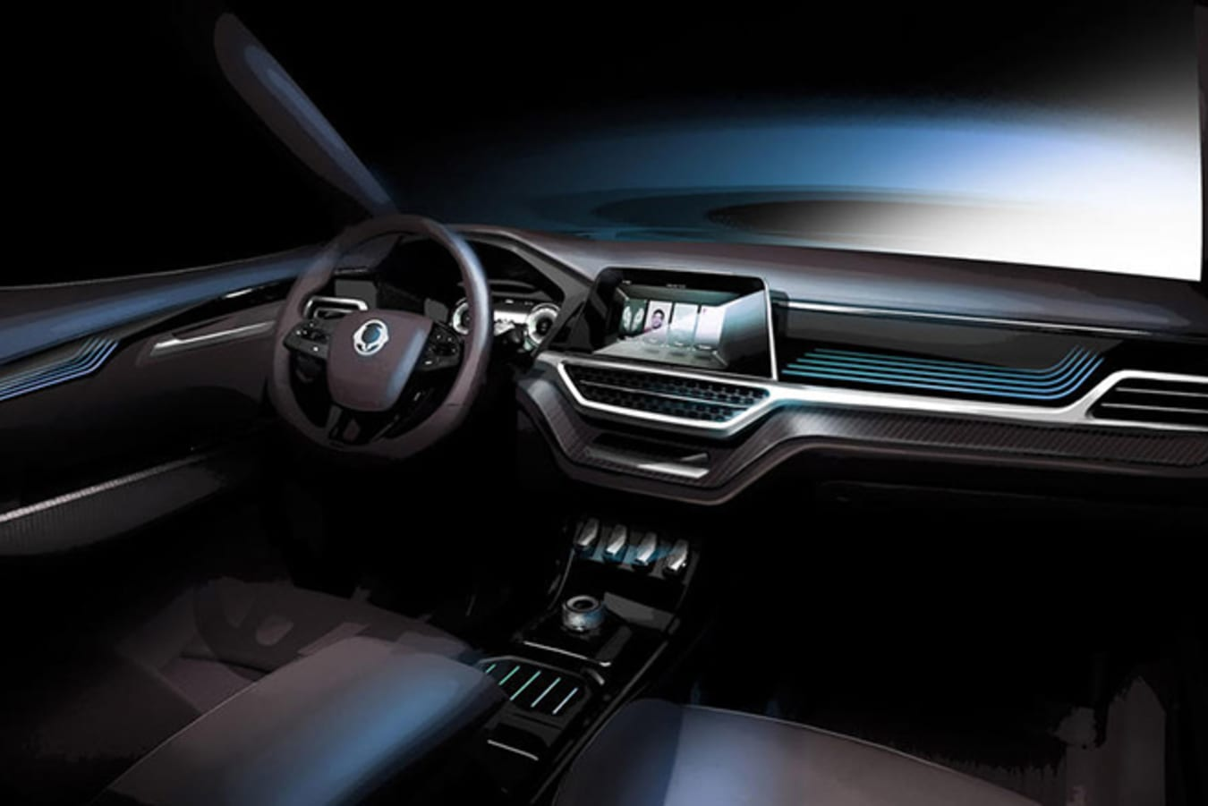 SsangYong teases new SUV ahead of 2017 Geneva Motor Show