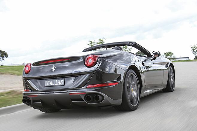 2017 Ferrari California T HS rear