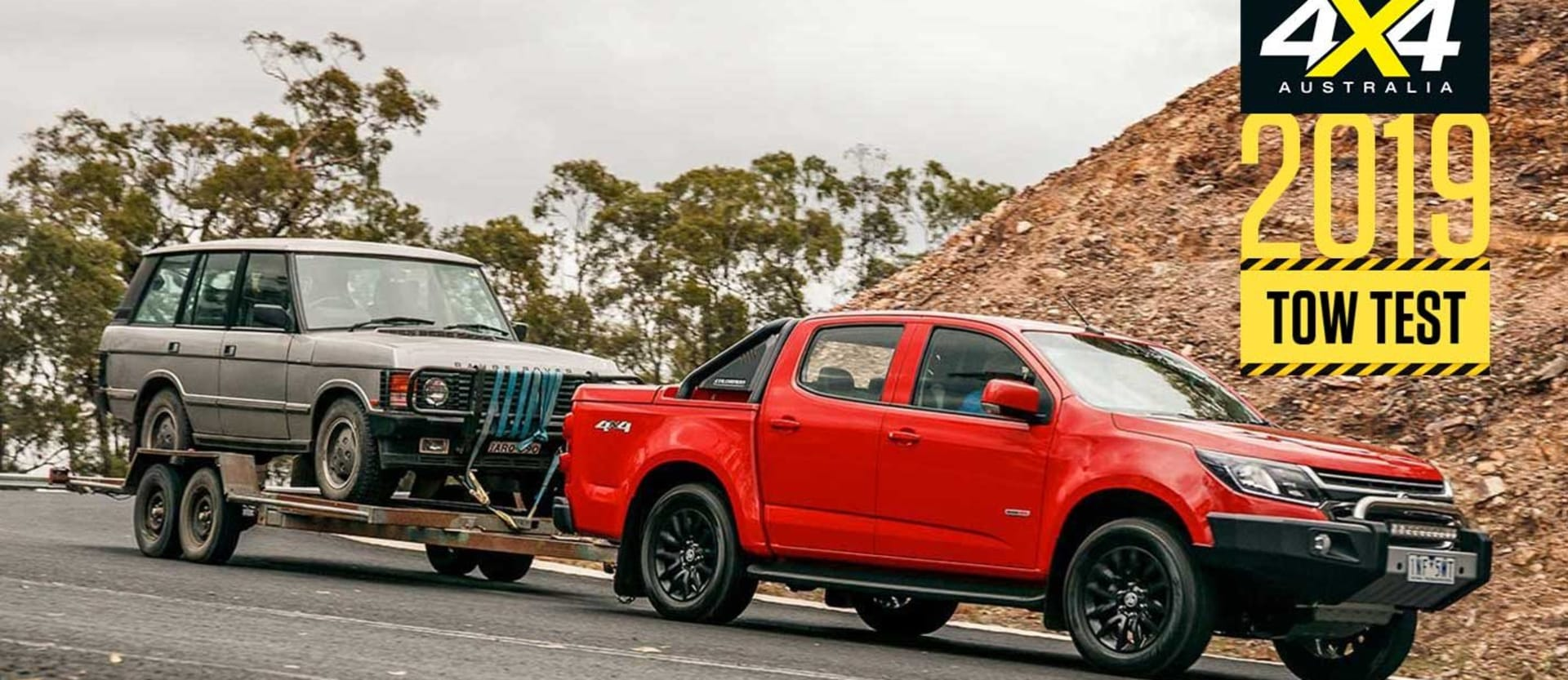 2019 Holden Colorado load and tow test review