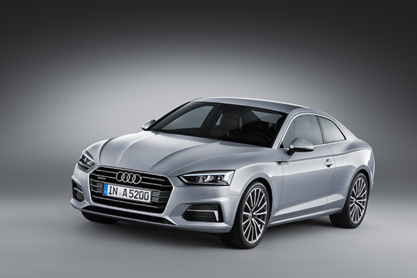 Audi A5 front side