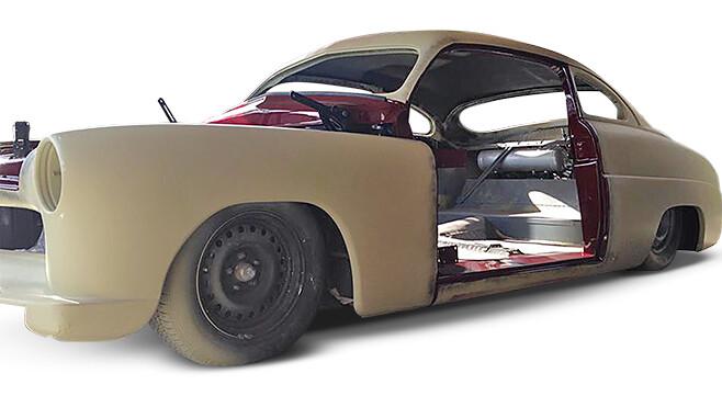 Mercury coupe build