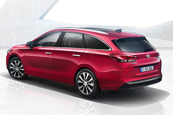 2017 Hyundai i30 Wagon rear