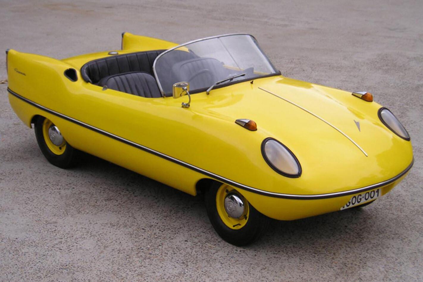 Goggomobil Dart Yellow Jpg