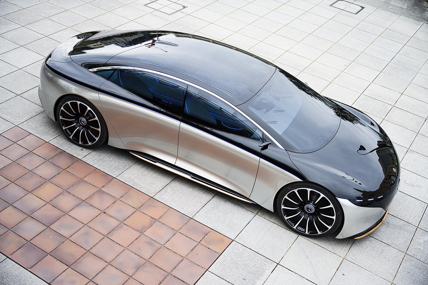 2020 Mercedes-Benz EQS concept exterior