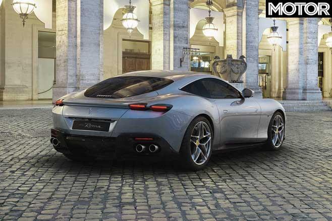 Ferrari Roma Rear Jpg