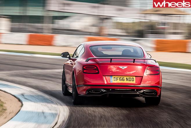 2017-Bentley -Continental -Supersports -rear -corner