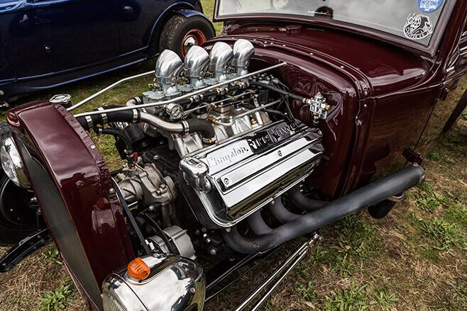 Hemi-powered A coupe